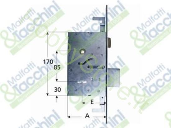Picture of Serrature Dm.Inf.3C.4 Mand.E70 Cod. 15386