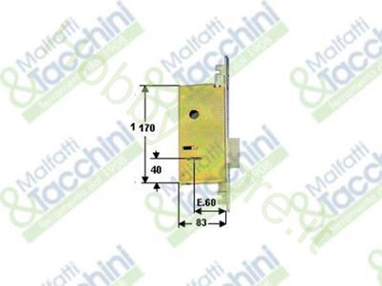 Picture of Serrature Infil.3C.2 Mand. E60 Cod. 15218