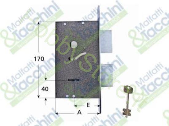 Picture of Serrature Infil.Cl.2 Mand. E50 Cod. 15169