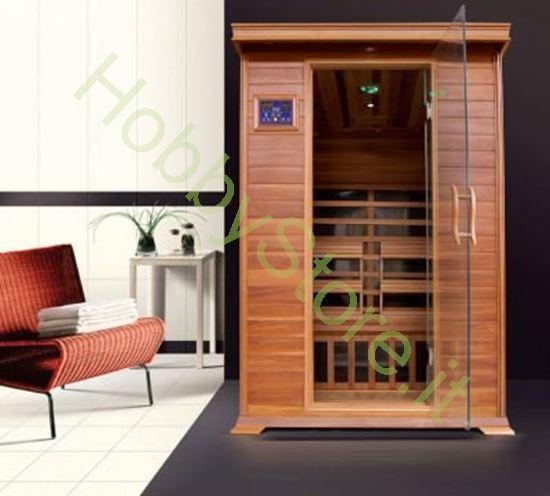 Picture of Sauna a raggi infrarossi Brown