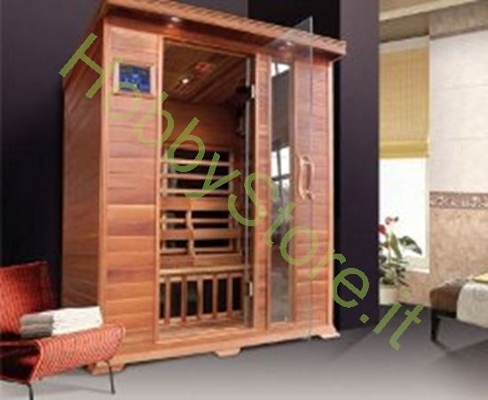 Picture of Sauna a raggi infrarossi 3Brown