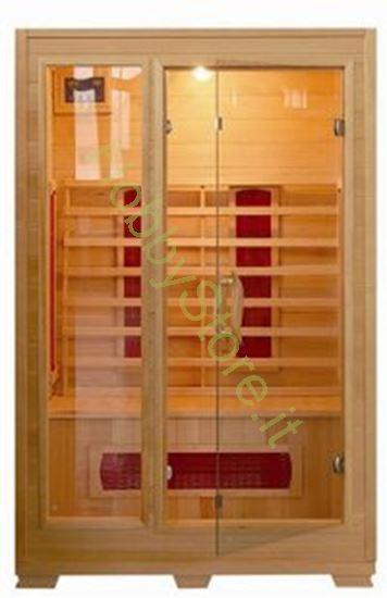 Picture of Sauna a raggi infrarossi Glass