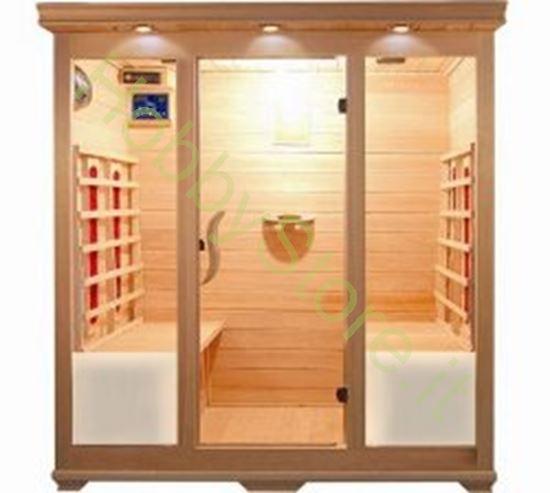 Picture of Sauna a raggi infrarossi Square