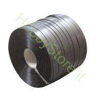Immagine di Reggetta in plastica a rotolo 15 x 0,5 mm foro 62 mm