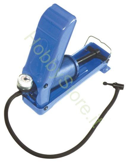 Picture of Pompa a pedale con manometro