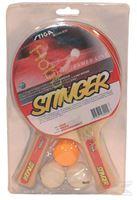 Immagine di racchette ping pong Stiga + 3 palline