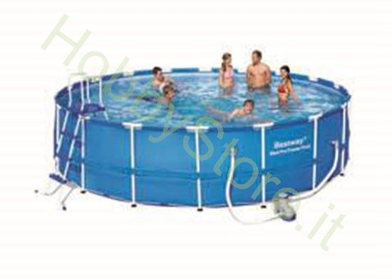 Picture of Piscina Steel Pro Frame, Cm. 549x122