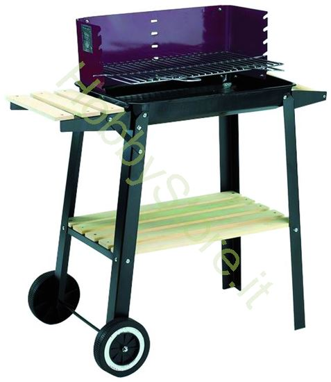 Picture of Barbecues Woody-48 con Ruote