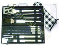 Immagine di Set per Barbecues Inox 10 Pezzi