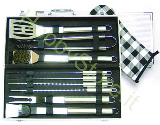 Picture of Set per Barbecues Inox 10 Pezzi