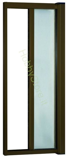 Picture of Zanzariere Alluminio color marrone  cm.140x250