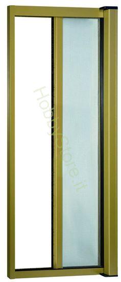Picture of Zanzariere Alluminio color bronzo  cm.140x250