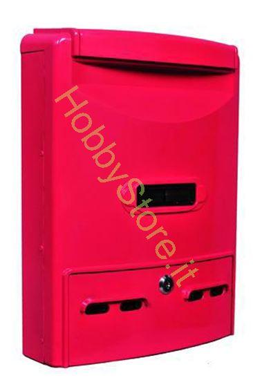 Picture of Cassetta postale rossa  29x10x39h cm