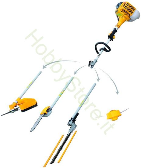 Picture of Tagliasiepi Vigor Combinato Vts-26 25cc-2t Euro2