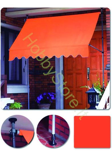 Picture of Tenda Da Sole Blinky Autoportante Arancio mt.2,5x1,5