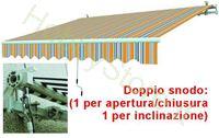 Immagine di Tende Da Sole Avvolgibili A Sbraccio Gia/Grig. cm.295x200