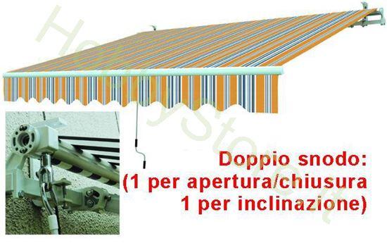 Picture of Tende Da Sole Avvolgibili A Sbraccio Gia/Grig. cm.395x250