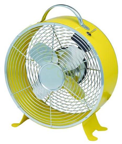 Picture of Ventilatori Da Tavolo  modello Giove Giallo