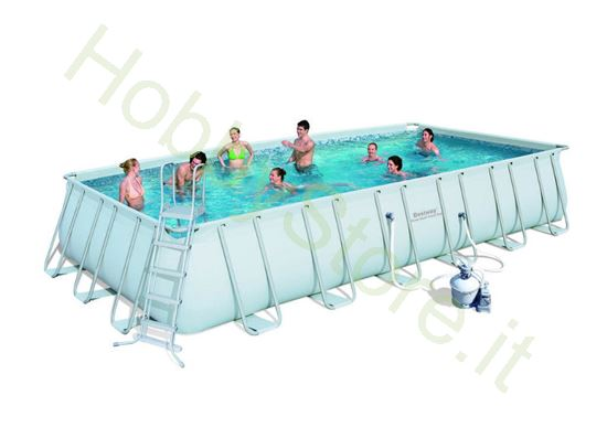 Picture of Piscina Power Steel Frame  Rettangolare, Cm. 732x366x132