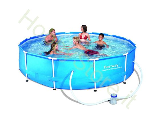 Picture of Piscina Steel Pro Frame, Cm. 366x76