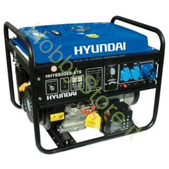 Generatore hyundai hy6500es ats 5 5 kw avviamento for Generatore di corrente con avviamento automatico