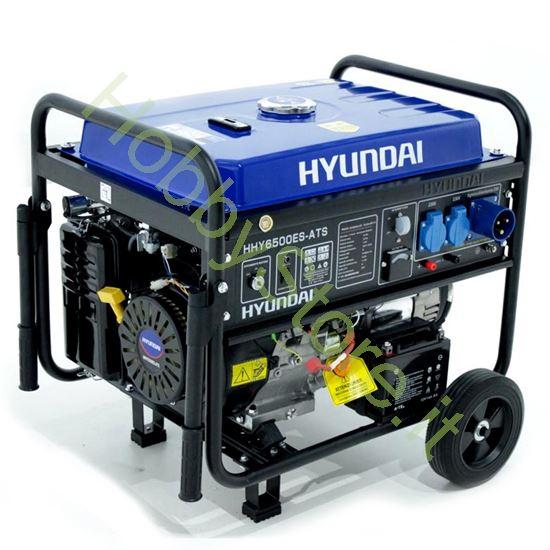 Picture of Generatore Hyundai 5,5 kW Avviamento Automatico