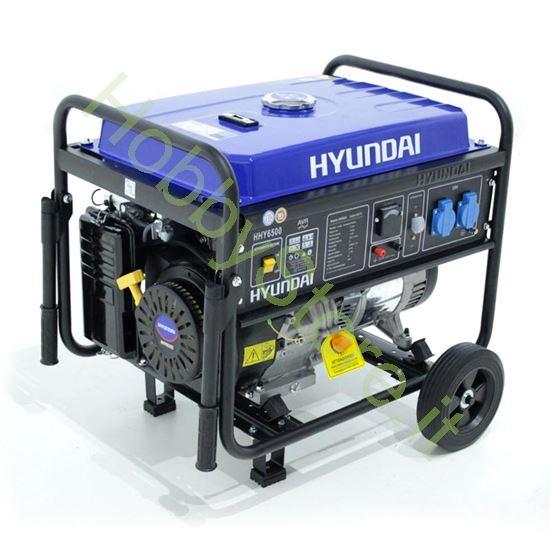 Picture of Generatore Carrellato Hyundai hy6500W 5,5 kW