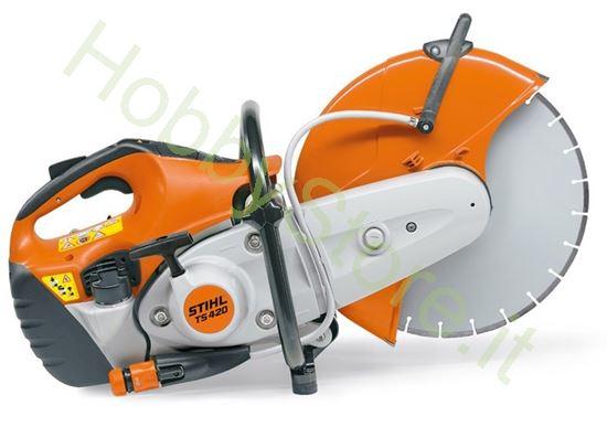 Picture of Mototroncatore Stihl TS 420 A professionale