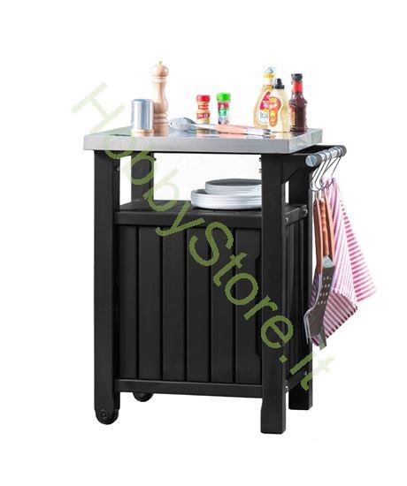 tavolino contenitore bbq small