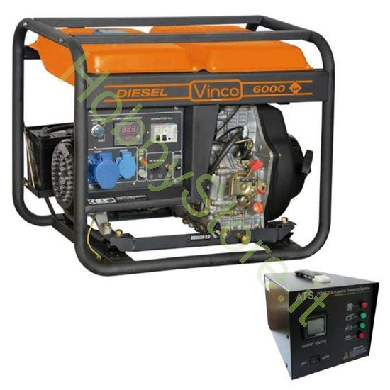 Picture of Generatore di corrente carrellato Diesel Vinco 5,5 kW 60211ATS65299