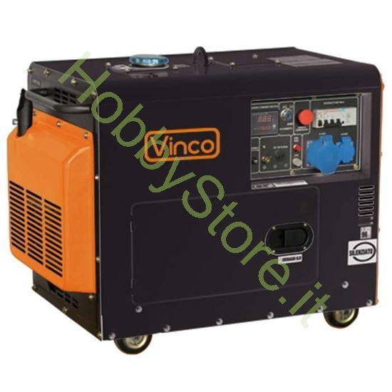 generatore diesel silenziato