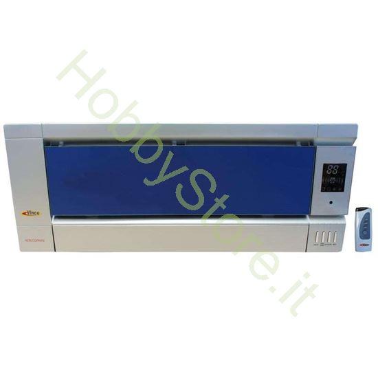 termoconvettore da parete colore blu