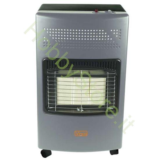 Stufa a gas con pannello infrarossi 4200 Watt