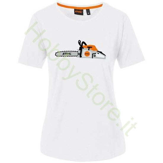 T-Shirt Chainsaw Stihl Donna
