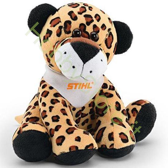 Leopardo di peluche Stihl