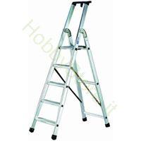 Scala Alluminio quadra EN131 - 8 gradini