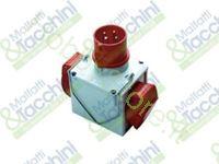 Immagine di Adattatore Cee Doppio 380V Cod. 126658