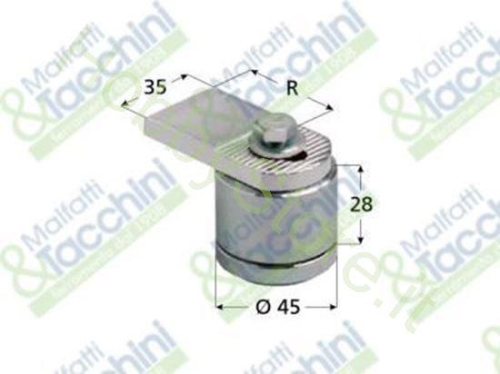 Picture of Cardine Registr.C/Cuscin.D=44 Cod. 138922