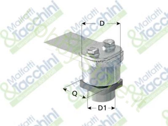 Picture of Cardine Regol.Zinc.C/Cuscin. Cod. 257096