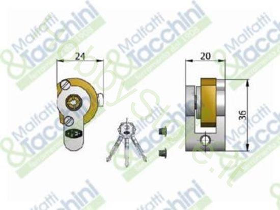 Picture of Cilindro A Spillo C/Supporto Cod. 277032