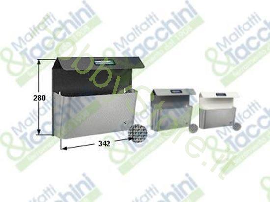 Picture of Portapub.Bimetal Piccolo Bianc Cod. 251587