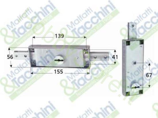 Picture of Combinazione Serrat. 2006+3006 Cod. 107534