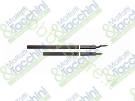 Picture of Coppia Aste Nere X 35370/35383 Cod. 157612