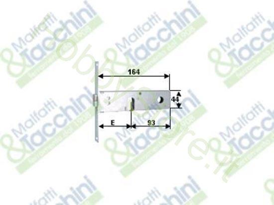 Picture of Serrat.Profil.Fascia 44 2 M. Cod. 121170