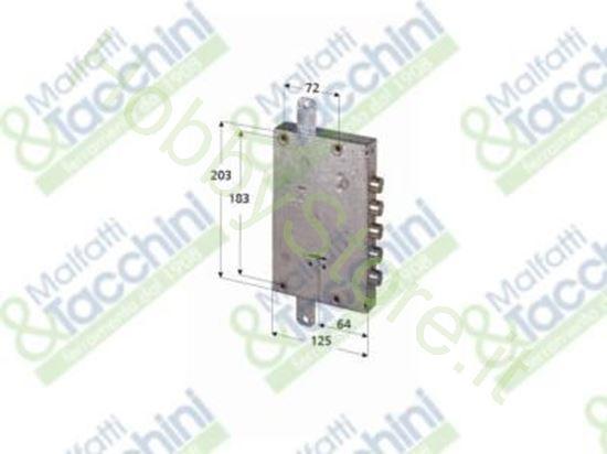 Picture of Serratura D.M.P/Porte Blindate Cod. 243439