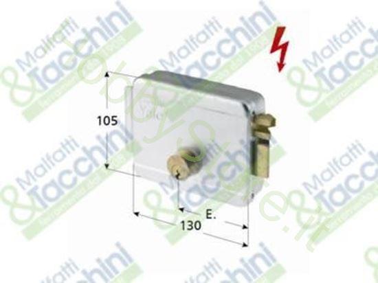 Picture of Serratura Elettrica Applicare Cod. 258335