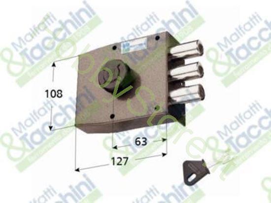 Picture of Serrature Applicare C/Cil.Pomp Cod. 259455
