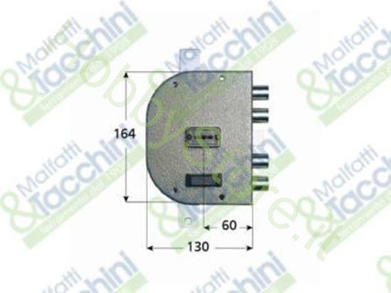 Picture of Serrature D.M.Applic.C/Scrocco Cod. 257901