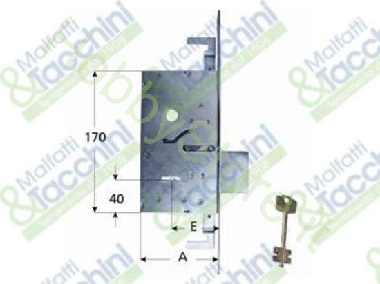 Picture of Serrature Infil.3C.2 Mand. E50 Cod. 15211