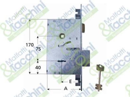 Picture of Serrature Infil.Cl.2 Mand. E60 Cod. 15190